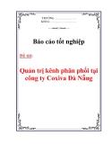 Báo cáo tốt nghiệp: Quản trị kênh phân phối tại công ty Coxiva Đà Nẵng