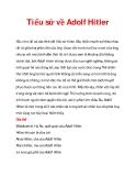 Tiểu sử về Adolf Hitler_1