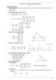 Bài tập hình học lớp 8