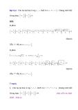 Cách giải nhanh bài toán bất đẳng thức