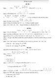 Bộ đề thi học sinh giỏi toán lớp 8 năm 2011