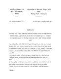 Thông tư số 47/2011/TT-BNNPTNT