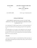 Kế hoạch 8133/BTC-QLBH