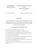 Quyết định số 20/2011/QĐ-UBND