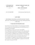Quyết định số 16/2011/QĐ-UBND
