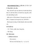 Giáo trình đại số lớp 7 - Tiết 34: LUYỆN TẬP