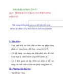 Giáo án đại số lớp 6 - Tiết 81 TÍNH CHẤT CƠ BẢN BẢN CỦA PHÉP CỘNG PHÂN SỐ