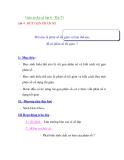 Giáo án đại số lớp 6 - Tiết 73  RÚT GỌN PHÂN SỐ