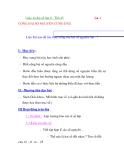Giáo án đại số lớp 6 - Tiết 45 CỘNG HAI SỐ NGUYÊN CÙNG DẤU