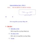Giáo án hình học lớp 6 - Tiết 12  TRUNG ĐIỂM CỦA ĐOẠN THẲNG