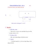 Giáo án hình học lớp 6 - Tiết 11 VẼ ĐOẠN THẲNG CHO BIẾT ĐỘ DÀI