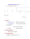 Giáo án hình học lớp 6 - Tiết 8 ĐỘ DÀI ĐOẠN THẲNG