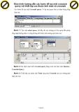 Giáo trình hướng dẫn các bước để tạo một crosstab query với thiết lập các thuộc tính total và crosstab p1