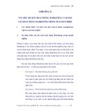 GIÁO TRÌNH MARKETING NÔNG NGHIỆP - CHƯƠNG 10 TỔ CHỨC BỘ MÁY HOẠT ĐỘNG MARKETING VÀ ĐÁNH GIÁ HOẠT ĐỘNG MARKETING TRONG DOANH NGHIỆP