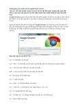 Phím tắt trong Chrome