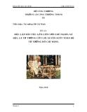 """tiểu luận môn Tư tưởng Hồ Chí Minh: """"ĐỘC LẬP DÂN TỘC GẮN LIỀN VỚI CHỦ NGHĨA XA ̃ HỘI, LÀ TƯ TƯỞNG CỐT LÕI XUYÊN SUỐT TOÀN BÔ ̣ TƯ TƯỞ NG HỒ CHÍ MINH"""""""