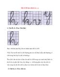 Chữ cái cho bé vào lớp 1: Bài 4: Bé học chữ h, k, v, y