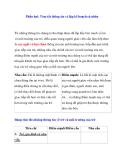 Giáo án cho trẻ khiếm thính: Phần hai: Tóm tắt thông tin và lập kế hoạch cá nhân