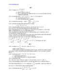40 đề toán ôn thi đại học 2012