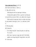 Giáo trình đại số lớp 7 - Tiết 20 ÔN TẬP CHƯƠNG I ( TIẾT 1)