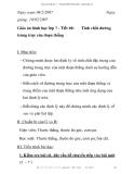 Giáo án hình học lớp 7 - Tiết 60: trung trực của đoạn thẳng