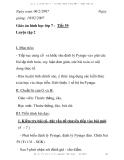 Giáo án hình học lớp 7 - Tiết 39: Luyện tập 2