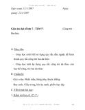 Giáo án đại số lớp 7 - Tiết 57:  Cộng trừ Đa thức