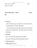 Giáo án đại số lớp 7 - Tiết 55:  Luyện tập