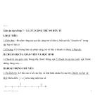 Giáo án đại số lớp 7 - Tiết 2: CỘNG TRỪ SỐ HỮU TỈ