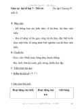 Giáo án đại số lớp 7 - Tiết 64: (tiết 2)  Ôn tập Chương IV