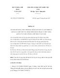 Thông tư số 07/2011/TT-BVHTTDL