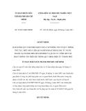 Quyết định số 32/2011/QĐ-UBND