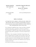 Thông tư liên tịch số 06/2011/TTLT-BNVBGDĐT