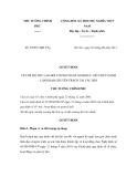 Quyết định số 30/2011/QĐ-TTg