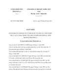 Quyết định số 07/2011/QĐ-UBND