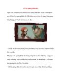 Kể chuyện bé nghe: Cô bé quàng khăn đỏ