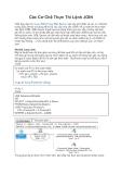 Các Cơ Chế Thực Thi Lệnh JOIN Tiếp theo bài Các Loại JOIN Trong SQL Server, bài này