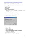 giáo trình SQL server  7.0 phần 3