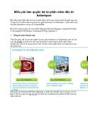 Miễn phí bản quyền bộ tứ phần mềm đến từ Ashampoo