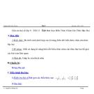 Giáo án đại số lớp 9 - Tiết 13: Rút Gọn Biểu Thức  Chứa Căn Thức Bậc Hai