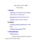 Giáo án đại số lớp 9 - Tiết 7 Luyện Tập