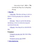 Giáo án đại số lớp 9 - Tiết 6 Liên Hệ Giữa Phép Chia Và Phép Khai Phương