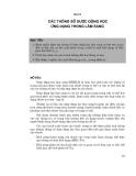 Hóa dược - dược lý III ( Dược lâm sàng ) part 2