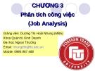 Chuong 3 - Phân tích công việc