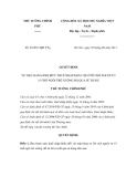 Quyết định số 36/2011/QĐ-TTg
