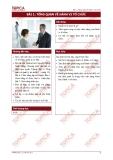 Hành vi tổ chức - Bài 1: Tổng quan về hành vi tổ chức