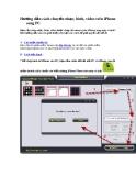 Hướng dẫn cách chuyển nhạc, hình, video trên iPhone sang PC