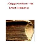 """""""Ông già và biển cả"""" của Ernest Hemingway"""