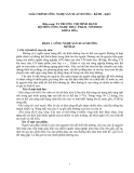 GIÁO TRÌNH CÔNG NGHỆ SẢN XUẤT ĐƯỜNG - BÁNH - KẸO part 1