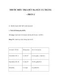 THUỐC ĐIỀU TRỊ LOÉT DẠ DÀY-TÁ TRÀNG – PHẦN 2
